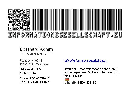 Informationsgesellschaft Berlin